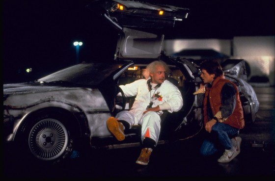 back to the future delorean 560x369