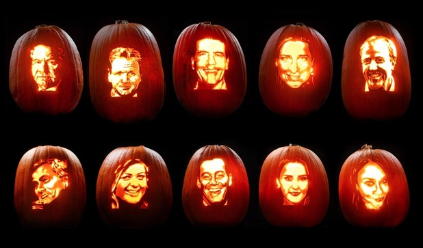 celebrity pumpkin carvings 1