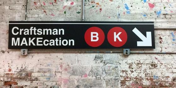 Craftsman Makecation Brooklyn 560x280