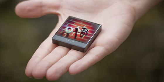 leia 3d display module in hand 560x280