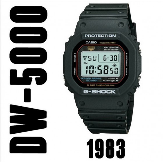 Casio G Shock DW 500 560x559