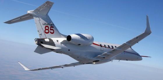 Learjet 85 560x275