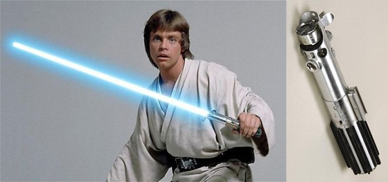 Luke Light Saber 560x263