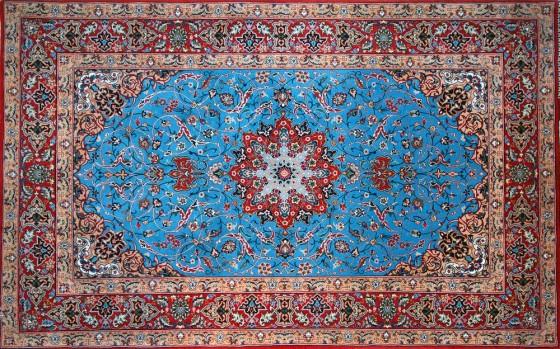 Silk Isfahan Rug 560x349