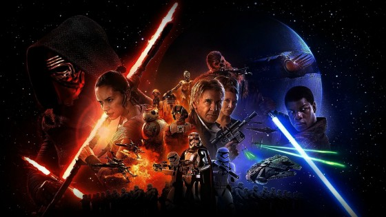 Star Wars Force Awakens Poster 1 560x315