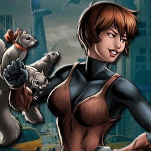 Squirrel Girl Appreciates Squirrel Appreciation Day