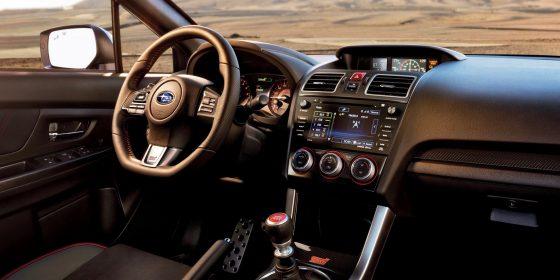 2016 Subaru WRX STI Interior 1 560x280