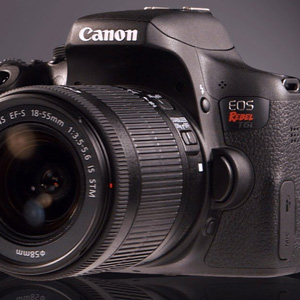 Three Top Rated DSLR Cameras