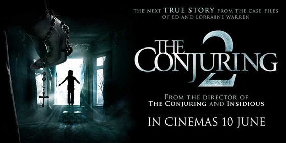 Conjuring 2 Poster 560x280