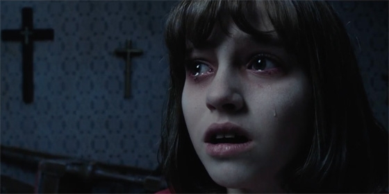 Conjuring Crying Girl 560x280
