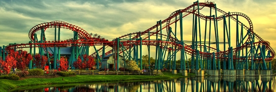 Roller Coaster 560x187