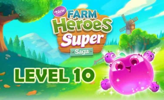 farm heroes super saga level 10 560x343