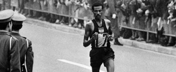 Abebe Bikila 560x231