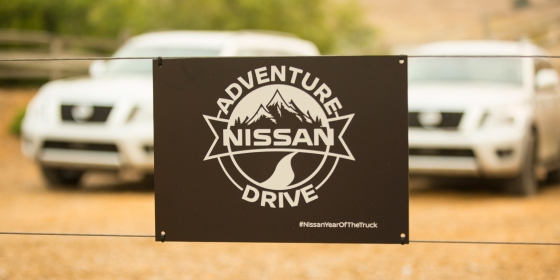 Adventure Drive Sign 560x280