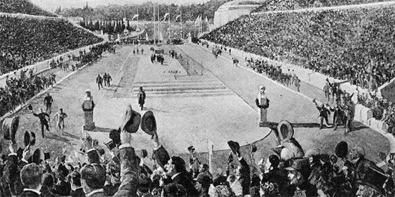 First Olympics 560x280