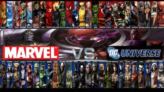 Marvel vs DC 560x315