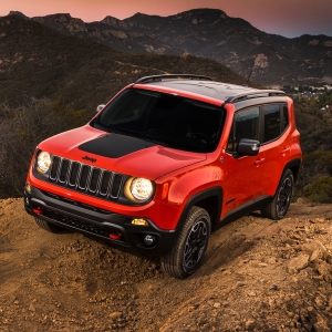 2016 Jeep Renegade Trailhawk : Review