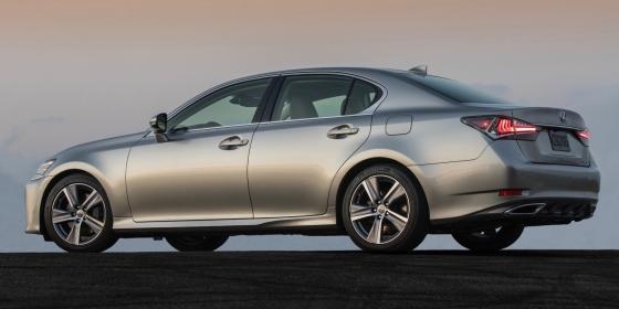 2016 Lexus GS 200T 3 560x280