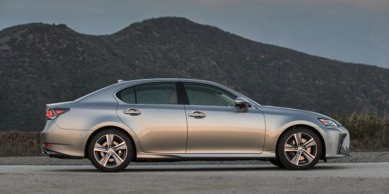 2016 Lexus GS 200T Exterior 1 560x280