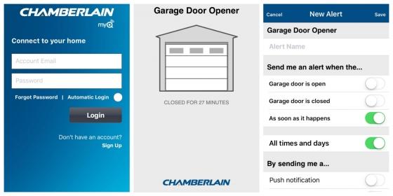 Chamberlain MYQ App 560x280