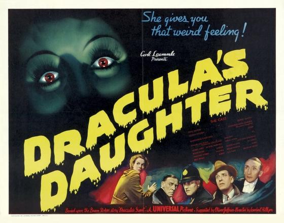 Poster Draculas Daughter 13 560x440