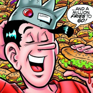 Five Cartoon Characters With Dangerous Food Addictions