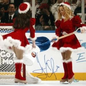 NHL Ice Girls Celebrate Christmas