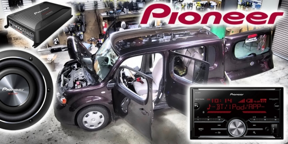 Pioneer Project Car 560x280