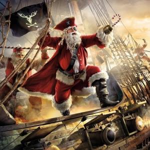 Epic Santa Claus Action Movie Posters
