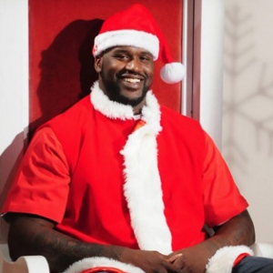 Sports Figures in Santa Claus Suits