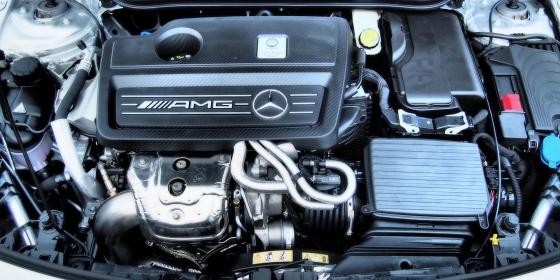 AMG CLA45 Engine 560x280