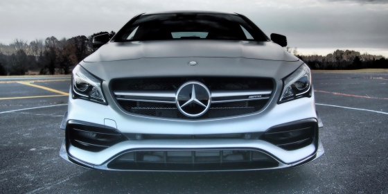 AMG CLA45 Front 560x280