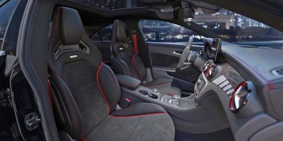 AMG CLA45 Interior 560x280