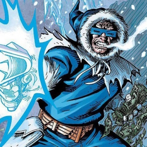 Comic Book Superheroes : Hot & Cold
