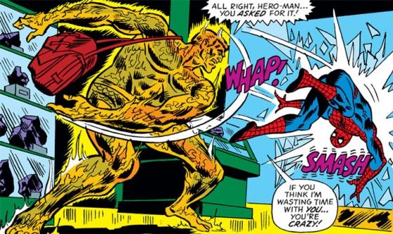 Molten Man Spider Man Marvel Comics Raxton h3 560x333