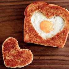 Heart Shaped Food for Valentine's Day