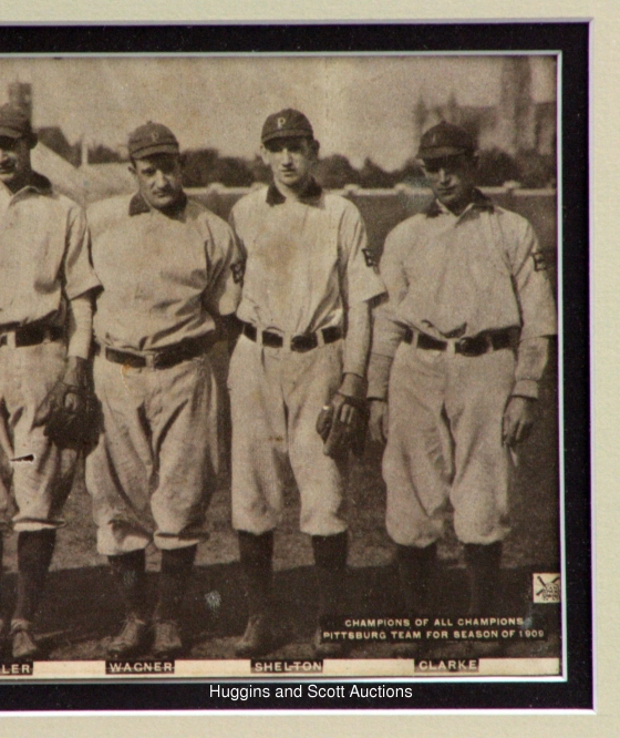 1909 Pittsburgh Pirates 560x666