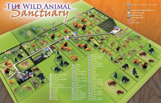 Wild Sanctuary Map 560x358