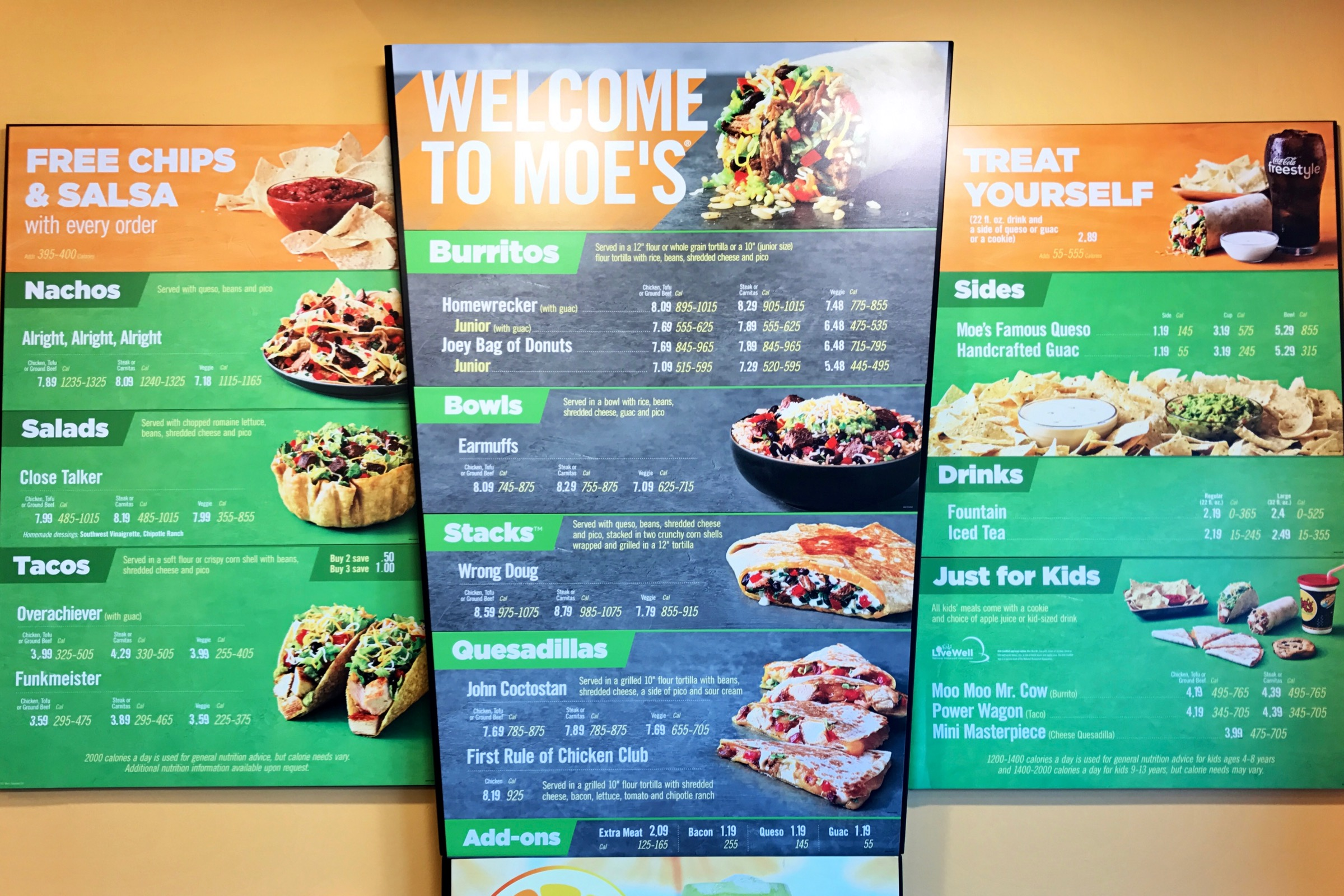 Five Fun Facts About Moe S Southwest Grill