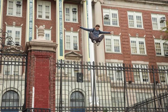 Spider Man Homecoming PP Fence 560x373