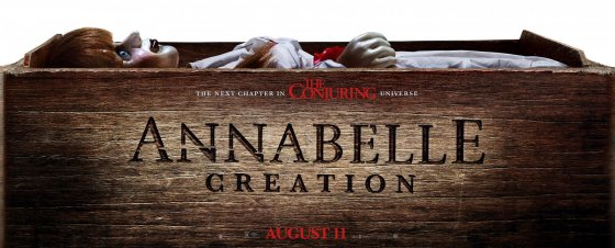 Annabelle Creation poster 560x226
