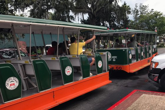 Old Town Trolly 560x373