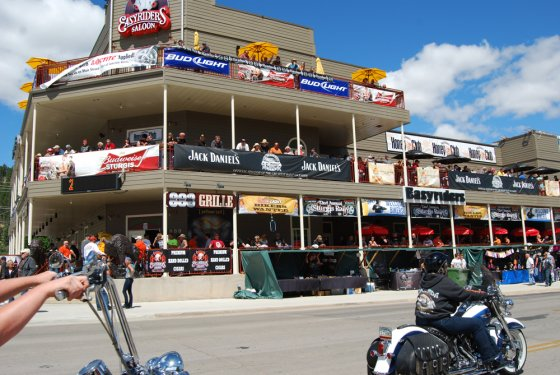 Photo of Downtown Sturgis South Dakota During Sturgis Motorcycle Rally 2012 August 4 2012 30 560x375