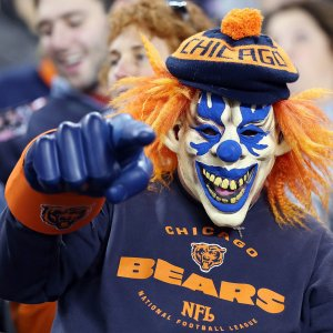 NFL Fans Celebrate Halloween