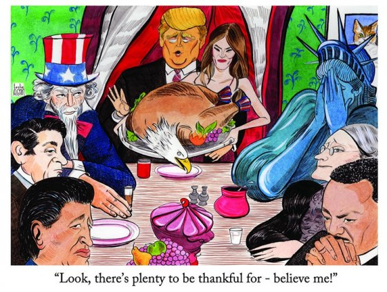 Trump Rockwell Thanksgiving 560x423