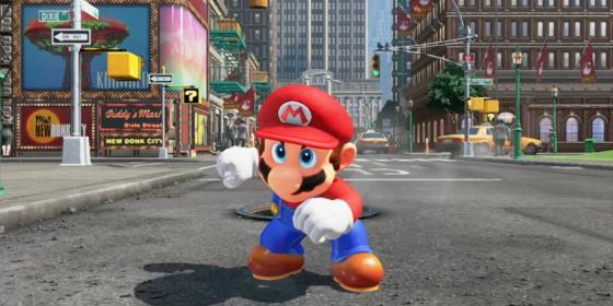 Super Mario Odyssey 560x280