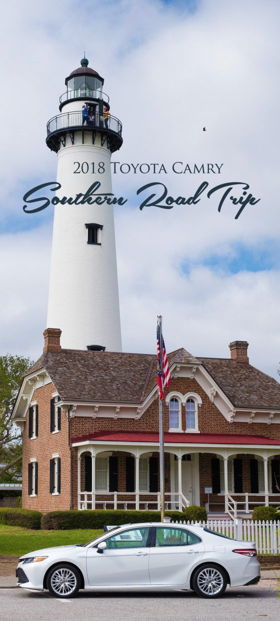 Toyota Camry Southern Road Trip Pin 560x1242