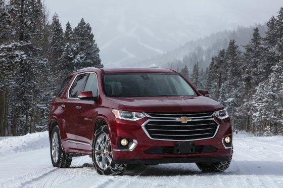2018 Chevrolet Traverse 3 560x372