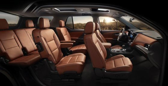2018 Chevrolet Traverse High Country 3 560x288