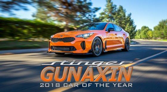 Kia Stinger Gunaxin Car of Year Header 560x308